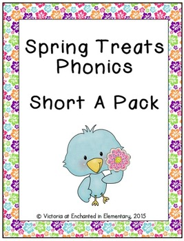 Spring Treats Phonics: Short A Pack