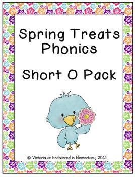 Spring Treats Phonics: Short O Pack