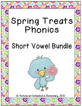 Spring Treats Phonics: Short Vowel Bundle
