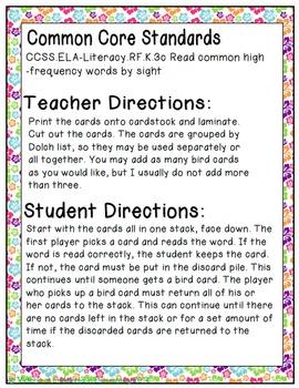 Spring Treats Sight Words! Primer List Edition