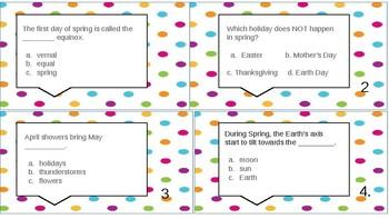 Spring Trivia