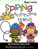 Spring Trolls: Antonyms Match Center (Basic)