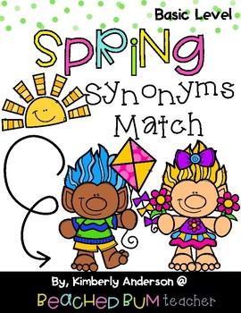 Spring Trolls: Synonyms Match Center (Basic)
