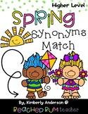 Spring Trolls: Synonyms Match Center (Harder)
