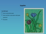 EASY to Teach! Spring Tulip Art Project, Step-By-Step w/ P