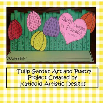 Spring Tulip Garden Poetry Craft