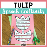 Spring Tulip Speech Craft