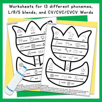 Spring Tulip Speech and Language Craft