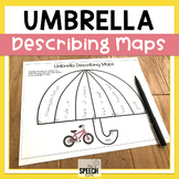 Spring Describing Vocabulary Graphic Organizer Worksheets
