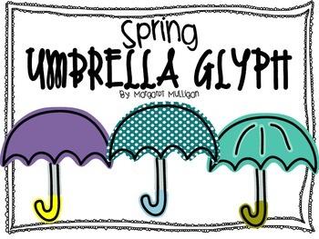 Spring Umbrella Glyph