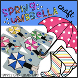 Spring Umbrella With Rain Boots Craft
