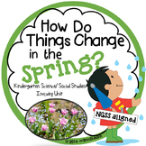 Spring Unit Kindergarten Science Social Studies