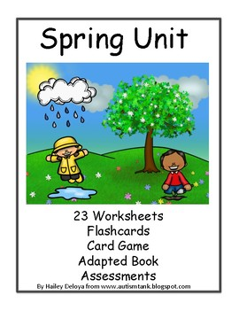 Spring Unit for Kids with Autism