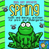 Spring Math and Literacy Unit for Pre-K to K