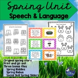 Spring Unit for Speech Language Therapy