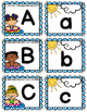 Free Upper Case and Lower Case Letter Match Task Cards
