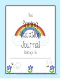 Spring Vacation Journal