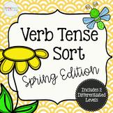 Spring Verb Tenses Sort #HoppyHalfDeals