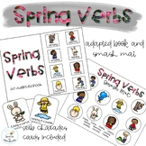 Spring Verbs Adapted Book // Speech Therapy // Grammar