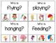 Spring Verbs!  Grammar Activity for Speech Therapy