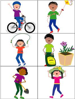 Spring Verbs/ Sentences
