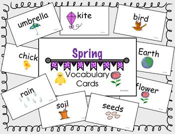 Spring Vocab Words