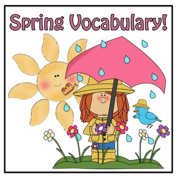 Word Sort, Crossword Puzzle, and Word Search Activity:  It's Spring!