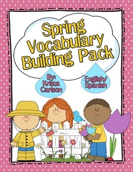 Spring Vocabulary Building Pack (Bilingual)