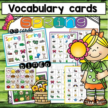 Spring Vocabulary ~Bundle~