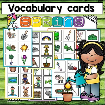Spring Vocabulary ~Bundle~