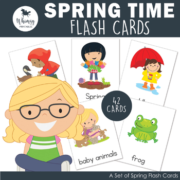 Spring Vocabulary Cards