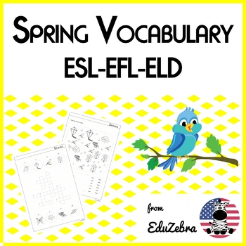 Spring Vocabulary - ESL - Activity Pack