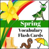 Spring Vocabulary Flash Cards