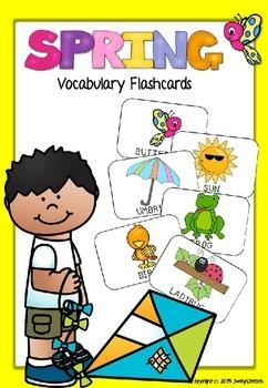Spring Vocabulary Flashcards