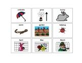 Spring Vocabulary Games: Bingo and Memory