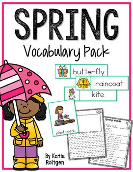 Spring Vocabulary Pack