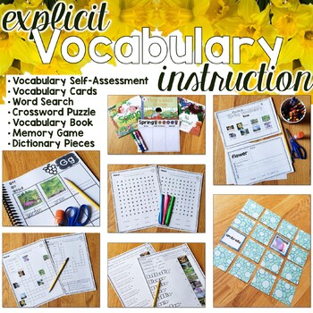 Spring Vocabulary Unit