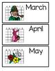 Spring Vocabulary: Word Wall, Emergent Readers, Literacy Activities (Boardmaker)
