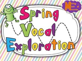 Spring Vocal Explorations