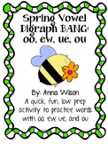 Spring Vowel Digraph Game