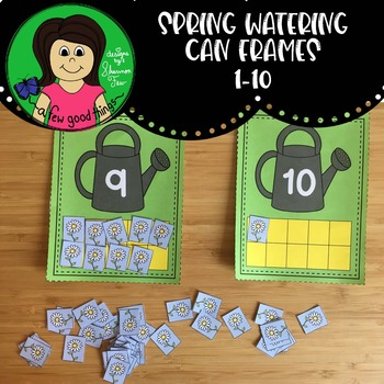 Spring Watering Can 10 frame