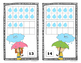 Spring Weather 10 Frame Counting Mats Bundle Set (1-20)