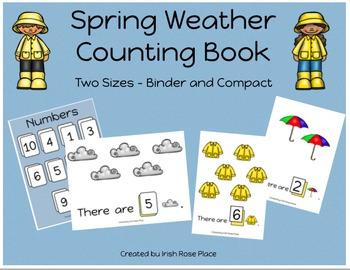 Spring Weather Counting Book (Adapted Book)