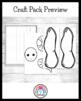 Spring Weather Craft Pack: Worm, Bird, Caterpillar, Sunflower
