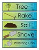 Spring/Weather/Earth Day/Planting Word Wall Cards w Curriculum Connection (pdf)