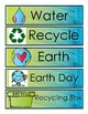 Spring/Weather/Earth Day/Planting Word Wall Cards w Curric