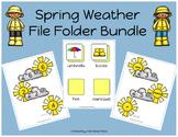 Spring Weather File Folder Bundle