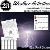 Spring Activities All Kinds of Weather with Ebook and Graphic Organizers