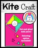 Spring, Windy Weather Craft: Kite