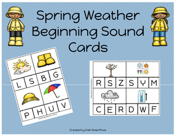 Spring Weather Language Bundle with Adapted Books